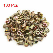 1//4-20 Aluminum Flange Nutserts Rivet Nut Rivnut Nutsert Pack of 1000