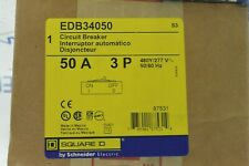 Schneider Electric Circuit Breaker 18kA@480V 100 Amp 480V New EDB34100 Square D