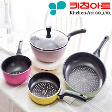 LOTTE Nonstick Marble 28cm Frying Pan Safe Kitchen Cookware Cooking Wok a/_R