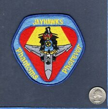 163rd TFS F-4 PHANTOM Pharwell 1991 Indiana ANG USAF Fighter Squadron Patch