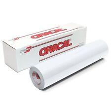 "12/"" Oracal 651  Adhesive Vinyl 13 Rolls@ 5/' Ea. Craft hobby//sign maker//cutter"