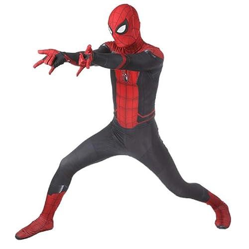 ugoccam Adult//Kids Zentai Suit Superhero Bodysuit Cosplay Costume Include Faceshell