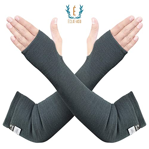 """Cut Resistant18/"""" Sleeve with Thumb Hole Size Mens One Pair of Sleeves"""