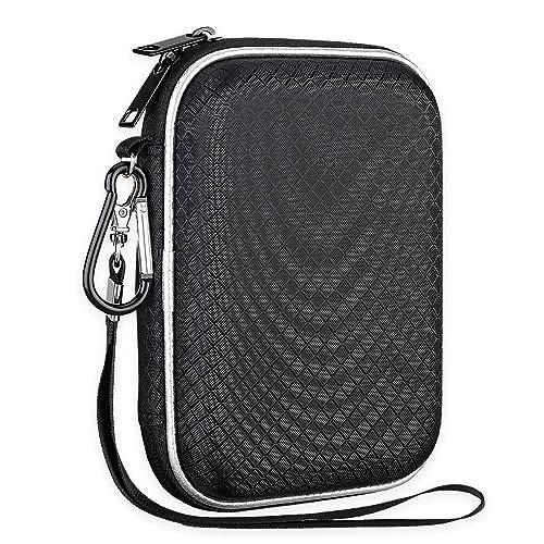 USB-C USB 3.1 Black SDSSDE60-G25 EVA Shockproof Carrying Storage Bag Lacdo Hard Travel Case for SanDisk 250GB 500GB 1TB 2TB Extreme Portable SSD
