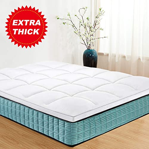 5cm Microfiber Mattress Topper Soft As Down Filing Anti Allergic Topper All Size