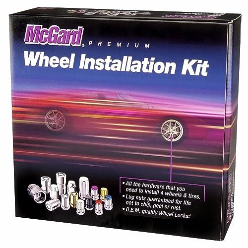 M12 x 1.25 Thread Size - Set of 4 Under Hub Cap Wheel Locks McGard 24013 Cone Seat