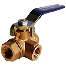 1 Flange x 3//4 Iron Pipe Straight Thread Legend Valve 111-115NL No Lead T-442 Bronze Angle Meter Valve with Waste