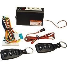 Crimestopper Universal Remote Car Alarm Security w// 4 Power Door Lock Actuators