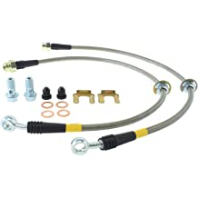 StopTech 950.44507 Stainless Steel Braided Brake Hose Kit Rear Stainless Steel Braided Brake Hose Kit
