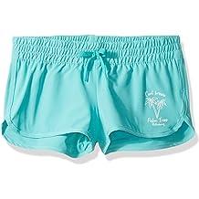 Kanu Surf Girls Little Sandy UPF 50+ Quick Dry Beach Elastic Waist Boardshort 6X X-Large Willow Navy Tie Dye