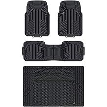 Heavy Duty All Weather Gray Non-slip Trimmable Van SUV Floor Mat /& Cargo 5 pcs