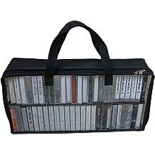 Evelots Cassette Tape Cases-Clear Plastic Storage-Audio-No Scratch//Dirt-Set//25