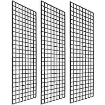 3 W x 6 H Pack of 3 KC Store Fixtures A04226 Gridwall Panel White