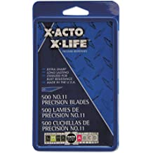 X-ACTO No.11 #11M Broad Tip Blades For Type A Handle 5pk X291 XACTO