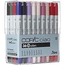 Copic Sketch Marker 72 Color Set D Premium Artist Markers