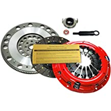 EF STAGE 2 CLUTCH KIT+ALUMINUM FLYWHEEL fits 91-98 NISSAN 240SX 2.4L KA24DE