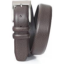 Marco LTD Mens Lizard Embossed on Genuine Leather Dress Belt Big/&Tall 2903-BRN