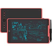 Navitech Red Graphics Tablet Case//Bag Compatible with The HUION H610PRO V2