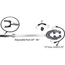 NovelBee Heavy Duty Stainless-Steel Outboard Engine Lock with Key