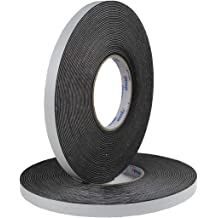 High Density Foam Tape Weather Stripping Insulation Soundproofing Closed Cell Foam Single Side Adhesive Tape 1//8T-1W-66ft