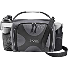 12f41e80e1f JAXX FitPak Deluxe Meal Prep Bag with Portion Control Container Set &  Shaker (Various