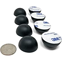 "16x .75/"" Platinum Silicone Hemisphere Bumper NonSkid Isolation Feet w Adhesive"