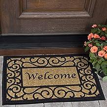 Color/&Geometry Doormat 24x36 Non Slip Washable Quickly Absorb Moisture and Resist Dirt Rugs Outdoor Indoor Waterproof