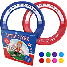 Prizes Pack of 12 Discs Best Value Plastic Flying Disc PTC and Party Favors Inc Classroom Assorted Colors Heavy-Duty Bulk Set of 11-inch Flying Saucers Made in USA Great for School